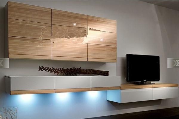 挂墙式电视柜