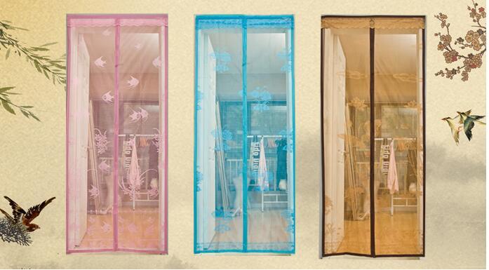 磁性软纱门怎么安装?磁性软纱门安装步骤