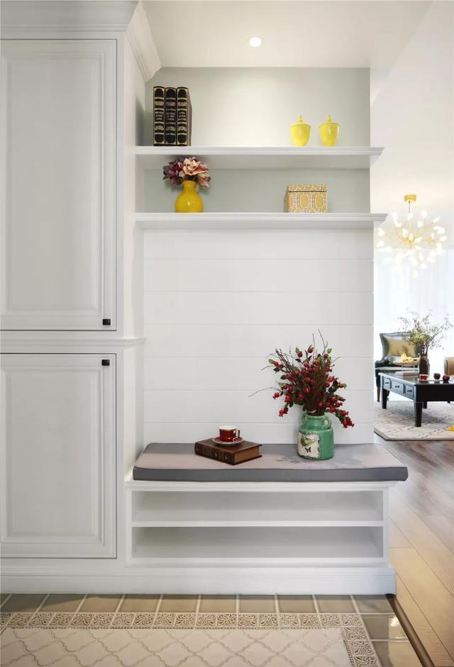 135㎡简美风格三居室 家居软装复古又有格调
